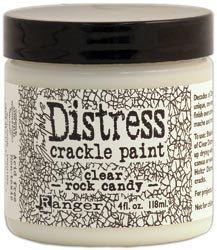 Tim Holtz Distress Crackle Paint ROCK CANDY by artisticsupplies, $7.99