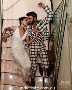 Ranveer Singh and Vaani Kapoor Photoshoot for Harper Bazaar 2016 - Indiansite
