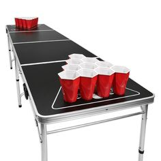 Interested in playing the game of beer pong? Well, I have done a review on a long beer pong table that you can use to play on during a tailgating event. Have fun!