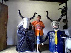 Casa do Patrimônio: O artesão das máscaras das cavalhadas de Pilar de Goiás