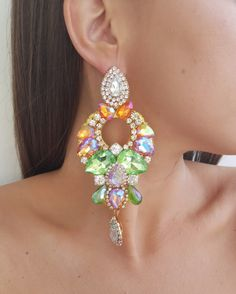Diamond Earrings, Drop Earrings, Romantic Dinners, Jewelry, Fashion, Bangle Bracelets, Accessories, Jewerly, Neck Chain