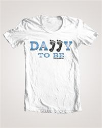 Daddy T-Shirts for all kinds of Dads - such a cute idea to give as a pregnancy reveal or for a daddy baby shower gift!