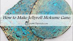 Polymer Clay Jellyroll Mokume Gane Tutorial