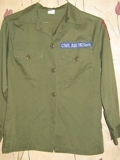 vintage CIVIL AIR PATROL Military   womens by Linsvintageboutique, $21.50