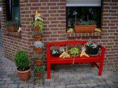 Beautiful herbstdeko eingang Wohnen und Garten Foto