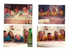 20 Recreated Family Photos That Are Just DELIGHTFUL