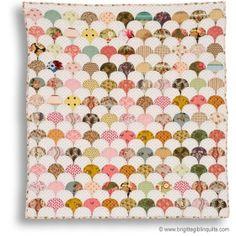 Clamshell quilt pattern, Brigitte Giblin