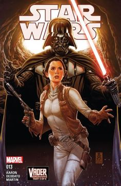 Star Wars (2015-) #13  Bringing together the smash-hit Star Wars and Darth Vader series! Leia comes face to face with true evil!