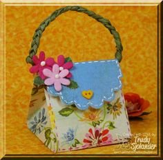 6x6 Purse Box by true-2-you - Cards and Paper Crafts at Splitcoaststampers