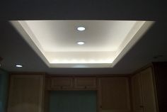 bull nose soffit for master bedroom