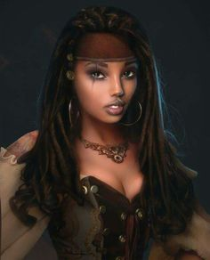 Pirate Girl Tress! @