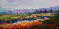Rainbow Marsh by Erin Hanson, oil