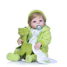 Dolls & Stuffed Toys Just Otarddoll 22 Silicone Baby Dolls Toy Realista Reborn Doll Christmas Birthday Gift For Girls Bebe Reborn Doll Beautiful And Charming