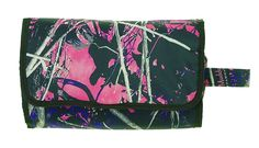 Muddy Girl Purple Pink Roll Up Cosmetic Bag * Discover this special product, click the image : Travel cosmetic bag
