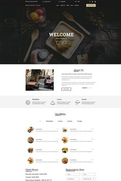 Restaurant Dany is a great PSD template designed for Restaurants. This template is easy to convert to html / css or any CMS WordPress, Joomla or Photoshop Tutorial, Photoshop Actions, App Landing Page, Web Design Software, Free Advertising, Web Design Inspiration, Design Ideas, Personal Portfolio, Web Layout