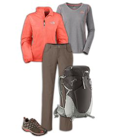 The North Face® Women's Hiking Outfit @fiance9