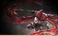 Dark Souls,фэндомы,Slave Knight Gael,Dark Souls 3,DSIII персонажи,DS art