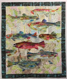 Go Fish Painterly Collage Kit by Laura Heine