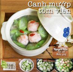 Thực đơn cơm tối với công thức tôm chiên đã ăn là ghiền - Kenh14 Mobile Vietnamese Cuisine, Vietnamese Recipes, Asian Recipes, Ethnic Recipes, Asian Foods, Baby Food Recipes, Low Carb Recipes, Healthy Recipes, Fun Cooking