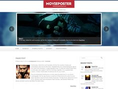 MoviePoster WordPress theme is a perfect foundation for cinema website. Easy to use administrative panel, custom widgets, an eye catching related posts and lots of other powerful features provide a great base to build on. Movie Website, Perfect Foundation, Blogger Templates, Premium Wordpress Themes, Website Template, Cinema, Base, Posts, Movies