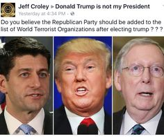 THE REPUBLICAN PARTY IS OFFICIALLY A HATE GROUP AND IS A CLEAR AND PRESENT DANGER TO ALL AMERICANS!!