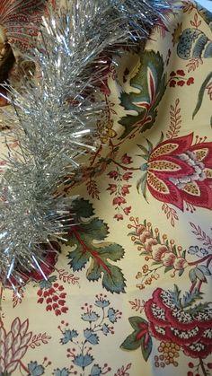 Merry Christmas from all of us at Nicholas Herbert!! Fabric: Coromandel