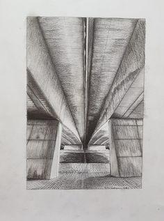 Autobaan brug, Bornebroek, Holland