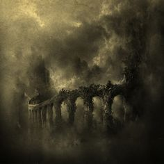 Bridge of Souls | mixed media - Yaroslav Gerzhedovich