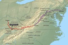 "The origins of the Wilderness Road were the traces, or trails, created by great herds of buffalo that once roamed the region. Later used by Native Americans, such as the Cherokee & Shawnee, they called the route the ""Path of the Armed Ones"" or ""The Great Warrior's Path."" In March 1775, from present-day Kingsport, Tennessee, Daniel Boone led 30 ax-men in cutting the road. Hacking across mountains & through swamps, within a month he reached the Kentucky River, 208 miles from its starting…"