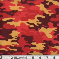 """ARMY CAMOUFLAGE PRINT PINKS CAMO FABRIC 44/""""W for DRAPE CRAFT TABLECLOTH BTY"""