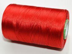 India red Silk Thread SpoolArt Silk by CraftyJaipur on Etsy