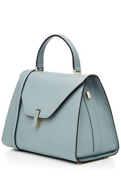 Valextra Isis Leather Tote