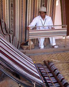 Weaving - Otavalo Ecuador
