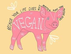 """I am Vegan strictly for the Animals. We all know Veganism only provides great advantages in every single way, but it is important we understand that we NEED to respect Animals rights strictly because it is our moral obligation, NOT because we benefit from it or because we feel """"compassion"""" or """"pity"""" from their situation. You need to respect Animals in every single way and understand that it is an obligation, not a choice. Animals are NOT less important than humans."""