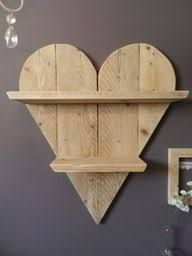 Image result for wood hearts for crafts