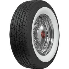 BF Goodrich Silvertown Whitewall Radial Tires