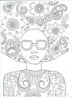 The Woman. Illustration by Shelly Eartha Simpson.