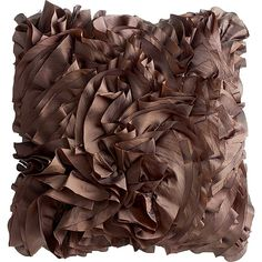 Textured pillow for great room or living room