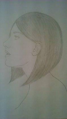 Encore un dessin de profil. X)