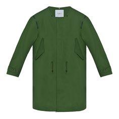 2a13eb604e1ef CEREMONY WELLER ARMY Parka De Queue De Poisson, Coat, Mode Femme, Vestes,