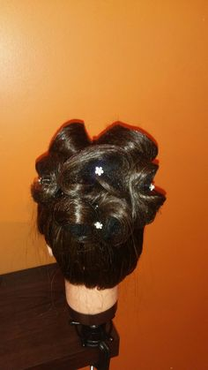 Watch tutorial on this updo on youtube at peinadostyle1