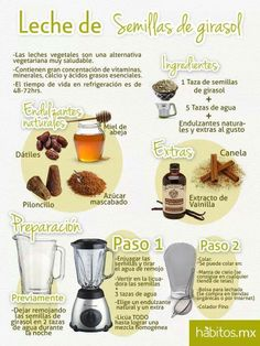 Lechada de Semillas de Girasol... de habitos.mx