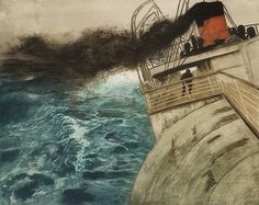 Atlanterhavsdamperen, Frits Thaulow