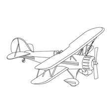 printable coloring pages how to draw air transport pinterest
