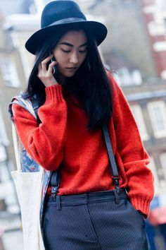 Street+Style:+London  - ELLE.com