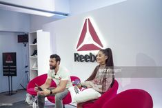 95977f152f85e2 Reebok host Chad Wittman and Ariana Grande attend An Inspiring  Day in the  Life  of Ariana Grande to celebrate new partnership with Reebok on.