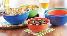 Matryoshka Bowls - Fulfill that nesting instinct with these colorful matryoshka bowls that nest inside each other, minimizing the amount of storage space needed. The 6 colorful bowls come in 3 different sizes and are made from SAN plastic for durability. Perfect for all of your snacks, salsas, dips, nuts, parties, chips, and more.