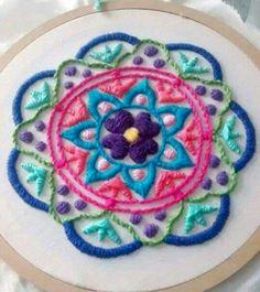 Mandala, embroidery