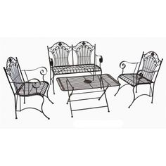 Marquee Henry 3 Piece White Bistro Setting I N 3191484