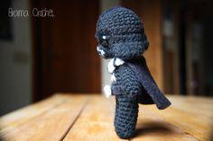 Darth Vader. Star Wars Amigurumi doll. Handmade Crochet toy